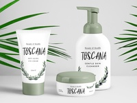 Olive Cosmetics PAckaging