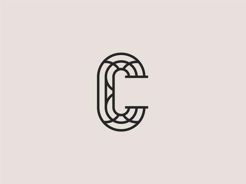 C vector logo typography type graphicdesign design