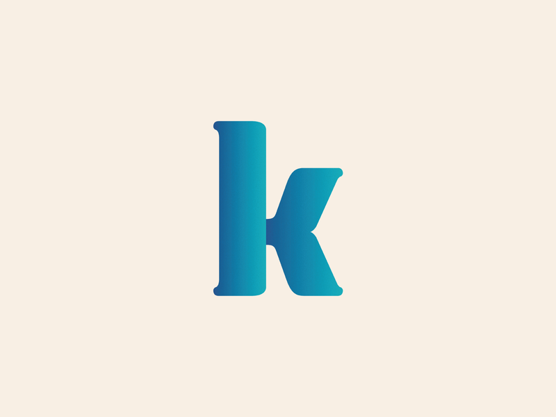 K-hale icon branding vector logo typography type graphicdesign design