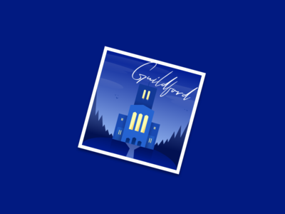 Guildford Sticker - Dribbble Weekly Warm-Up