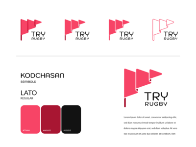 """""""Try"""" Rugby Club Logo Options"""