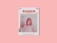 Raihan Magazine-Branding