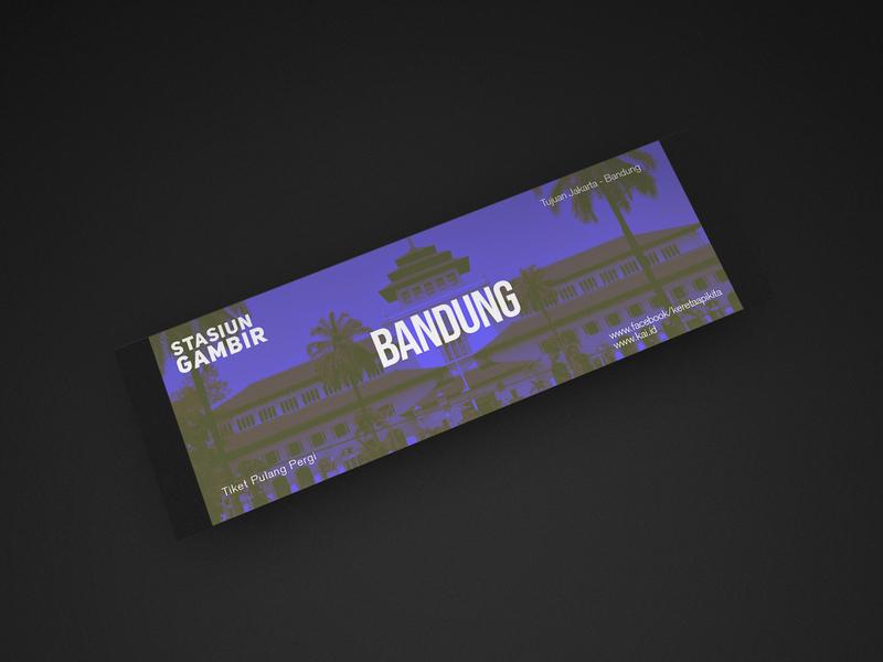 Bandung Train Ticket