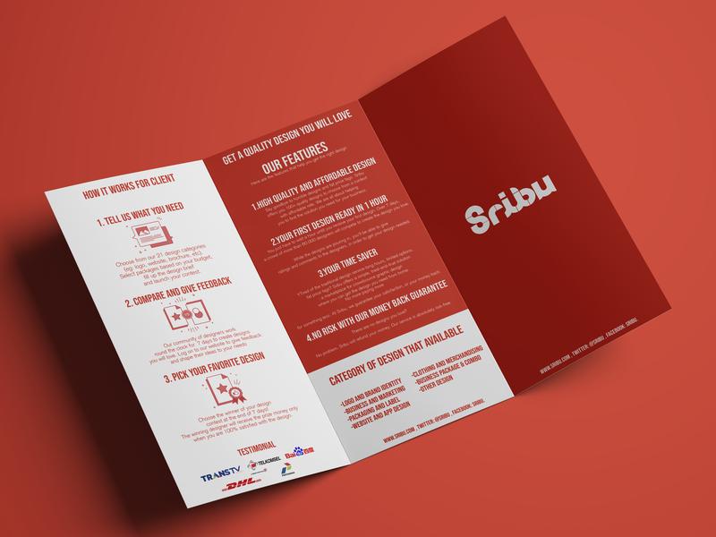 sribu leaflet