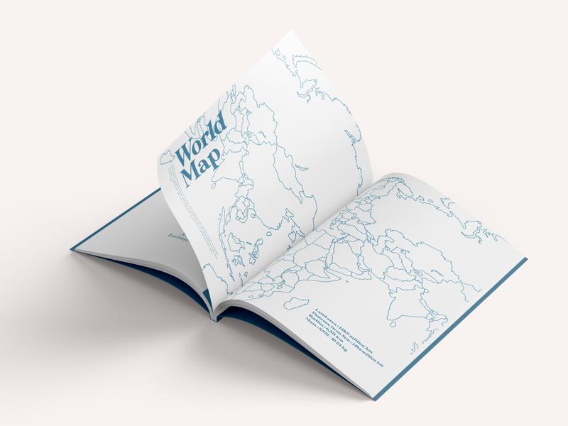 world map Baum Magazine