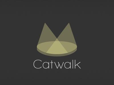Catwalk Logo catwalk cat logo