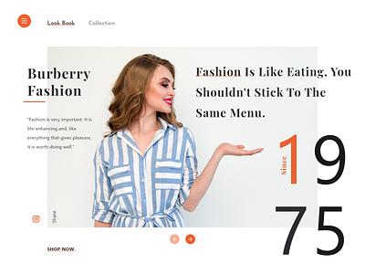 Dribbble Fashion Landing Page socialmedia social font family google design minimalist collaction shop ecommerce app ecommerce design fahion materialdesign material ui website webdesign