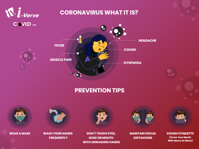 Covid 19 corona virus staysafe stayhome covid-19 covid19 covid corona coronavirus typography illustration branding banner banner design i-verve design