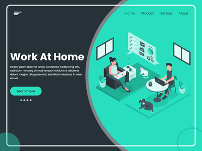Work At Home management covid-19 website workfromhome