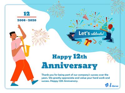 Celebrating 12th Anniversary i-verve anniversary