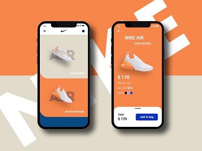 Shoes App Design android ios mobile design material ui app design clean ux ui minimal