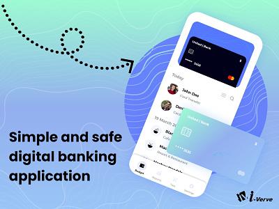 Banking App Landing Page web layout design topdesign minimalui flatui cleanui uiux bestuiux bestui bank bannerdesign banner