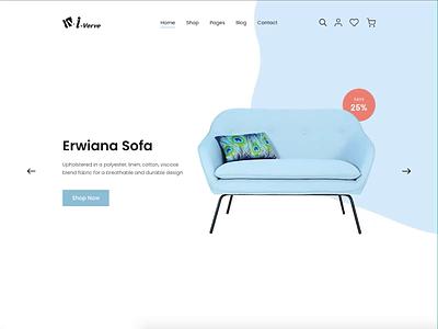 Buy Furniture Online: Landing Page Animation in Parallax design interior website minimalist video animation interior design responsive designer interior designer furniture concept uiux ux ui webdesign
