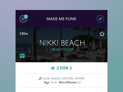 Secret App-Project app redesign screen home