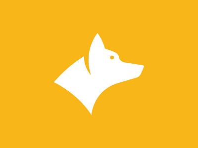 Dog Logo for Naloux hound icon logo dog