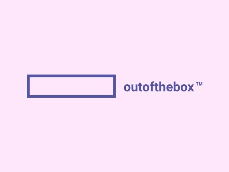 Outofthebox Logo logotype ci logo