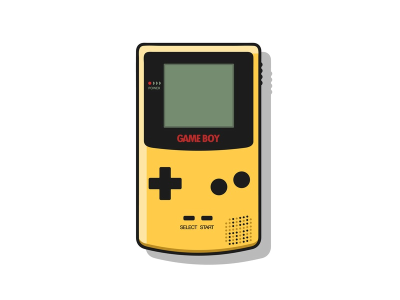 Retro Gameboy by tdhsan on Dribbble