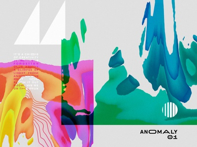 Anomaly 01 weird fluid anomaly lyrics album art warping experimental paint texture
