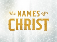 The Names Of Christ Art