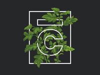 Leafy Logo Shirt