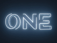 One Neon Sign