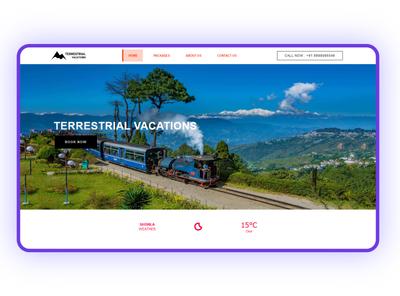 The Terrestrial Vacations Template wordpress theme template design website webdesign