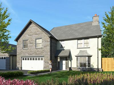 House Elevation branding archviz c4d vrayforc4d illustration photoshop architecture