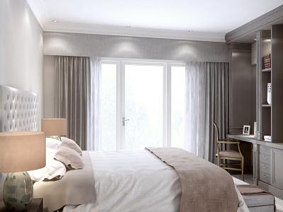 Bedroom bedroom brochure vrayforc4d branding c4d photoshop archviz architecture