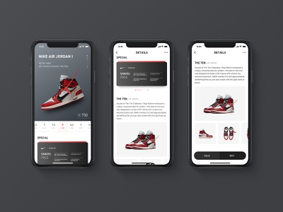 Redesign For Poison App shoes page card size theten black poison nike app