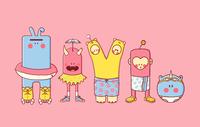 Yoohoo Characters