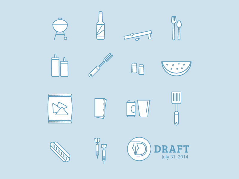 Draft bbq meetup by mx dribbble for Hashicorp careers