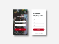 Daily UI 001 : SignUp Page_Modified
