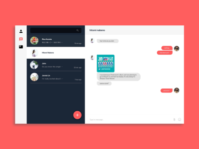 DailyUI013 : Direct Messaging