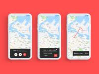 DailyUI020 : Location Tracker