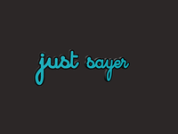 Justsayer Lettering