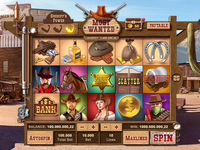 Most wanted slot