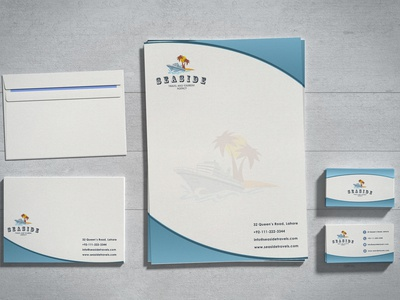 Travel Agency Logo and Stationary Design