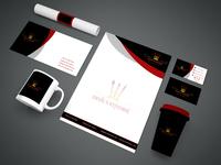 Restaurant Logo and Stationary Design