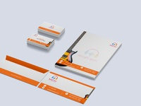 """""""Music Beat"""" Music Industry Complete Stationery Design"""