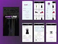 ShopLine E-Commerce Mobile UI Design