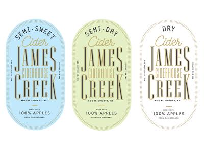 James Creek Labels