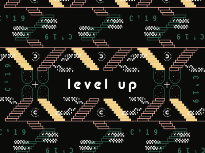 level up conference level stairs