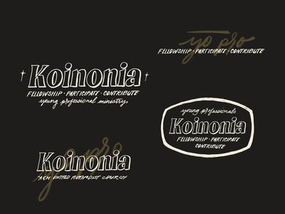 Koinonia Brand Identity