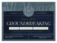 Formal Groundbreaking Invitation