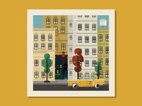 City Street Print