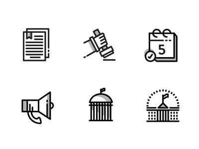 Municipal Work Icons