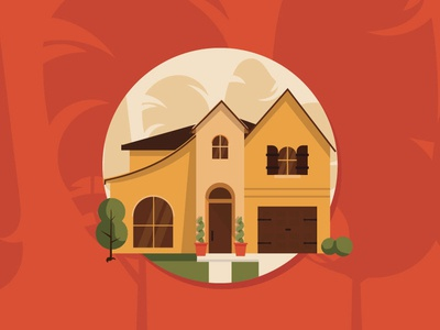 Home Illustration Icon