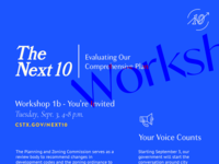 Editorial Poster - The Next 10