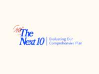 The Next 10 Wordmark