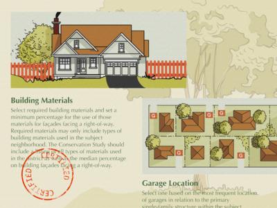 Neighborhood Document Illustrations